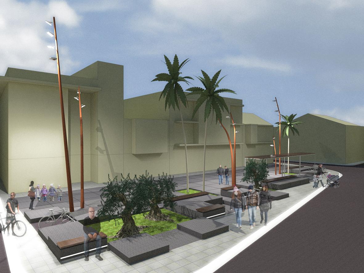 Smbarquitectura for Mobiliario espacio publico